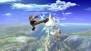Fox Ataque Aereo hacia adelante, primer golpe-SSBB.png