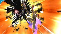 Ryu usando Shin Shoryuken en Super Smash Bros. para Wii U