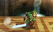 Ataque fuerte inferior Link SSB4 (3DS).JPG