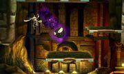 Gastly atacando a Greninja en Smashventura SSB4 (3DS).jpg