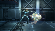 Snake Ataque Normal, primer golpe-SSBB.png