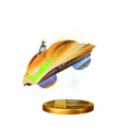 Trofeo de Nave de combate (Samus Zero) SSB4 (Wii U).png