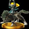 Trofeo de Link Lobo SSB4 (Wii U).png
