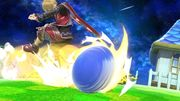 Sonic atacando a Shulk en Mario Galaxy SSBU.jpg