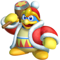 Art oficial del Rey Dedede en Kirby Star Allies