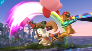 Ataque Smash hacia arriba de Fox Wii U.png