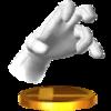 Trofeo de Crazy Hand SSB4 (3DS).png