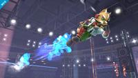 Fox usando Ilusión Fox en Super Smash Bros. para Wii U