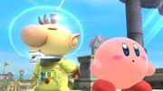 Olimar y Kirby en Altárea SSB4 (Wii U).jpg