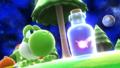 Yoshi junto a un hada embotellada en Galaxia Mario SSB4 (Wii U).png