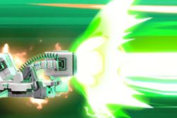 Vista previa de Láseres Robo guiados en la sección de Técnicas de Super Smash Bros. Ultimate