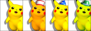 Paleta de colores Pikachu SSBM.png