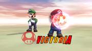 Pose de victoria hacia arriba (2) Mario SSBB.png