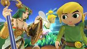 Créditos Modo Leyendas de la lucha Toon Link SSB4 (Wii U).png