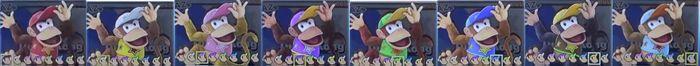 Paleta de colores Diddy Kong SSBU.jpg