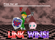 Pose de victoria de Link (2-1) SSB.png