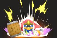 Vista previa de Supersalto Dedede en la sección de Técnicas de Super Smash Bros. Ultimate