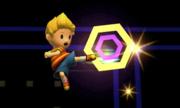 Ataque aéreo hacia delante de Lucas en SSB4 (3DS).png