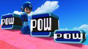 Mega Man junto a los diferentes tamaños de Bloques POW SSB4 (Wii U).jpg