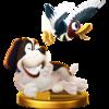 Trofeo del Dúo Duck Hunt SSB4 (alt.) (Wii U).png