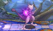 Burla hacia abajo Mewtwo (derecha) SSB4 (3DS).JPG