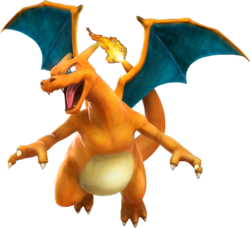 Artwork de Charizard en Pokkén Tournament