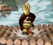 Ataque Smash hacia arriba de Donkey Kong (2) SSBM.png