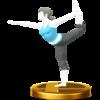 Trofeo de Entrenadora de Wii Fit SSB4 (Wii U).png