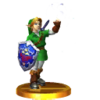 Trofeo de Link adulto (Ocarina of Time) SSB4 (3DS).png