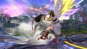 Lanzamiento Hacia Adelante Bayonetta SSB Wii U.jpg