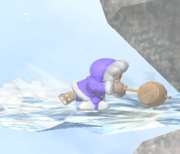 Ataque de recuperación de cara al suelo de Ice Climbers (2) SSBM.png