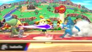 Canela evitando un ataque SSB4 (Wii U).png