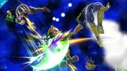 Daraen, Fox y C. Falcon SSB4 (Wii U).png