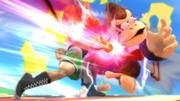 Little Mac atacando a Donkey Kong en Pilotwings SSBWiiU.png