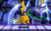 Ataque fuerte superior Pikachu SSB4 (3DS).JPG