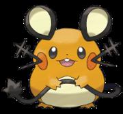 Artwork de Dedenne en Pokémon X y Pokémon Y.png