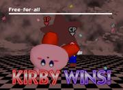 Pose de victoria de Kirby (1-2) SSB.png