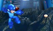 Ataque aéreo normal de Mega Man SSB4 (3DS).jpeg
