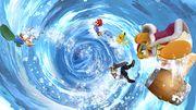 Corrin usando su Smash Final (2) SSB4 (Wii U).jpg