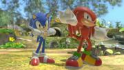 Sonic y Knuckles en el Vergel de la Esperanza SSBU.png