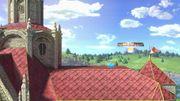 Interruptor azul en el Castillo de Peach (Melee) SSBU.jpg
