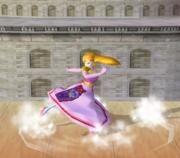 Ataque Smash hacia abajo de Zelda (2) SSBM.png