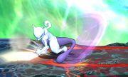 Ataque fuerte lateral Mewtwo (arriba) SSB4 (3DS).JPG