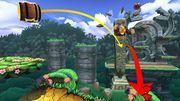 Donkey Kong en la Jungla escandalosa SSB4 (Wii U).jpg