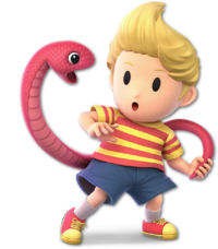 Lucas en Super Smash Bros. Ultimate