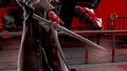 Detalle pose de espera de Joker (2) Super Smash Bros. Ultimate.jpg