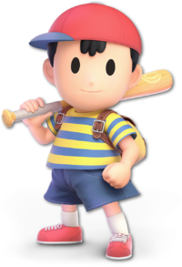 Ness en Super Smash Bros. Ultimate