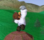 Ataque fuerte hacia arriba de Dr. Mario SSBM.png
