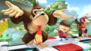 Créditos Modo Senda del guerrero Donkey Kong SSB4 (Wii U).png