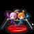 Trofeo de Kat y Ana en Mundo Smash SSB4 (Wii U).png